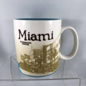 Miami Starbucks coffee cup